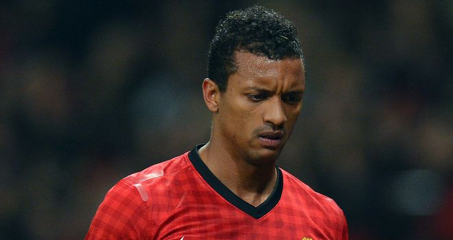 Nani: The winger has just one year left on his contract at Old Trafford