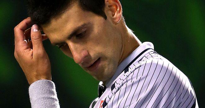 Novak Djokovic: Worried over severity of ankle injury