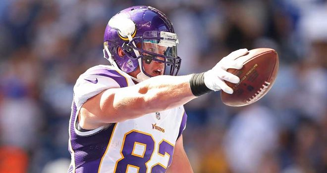 Kyle Rudolph: London should be in running for an NFL franchise