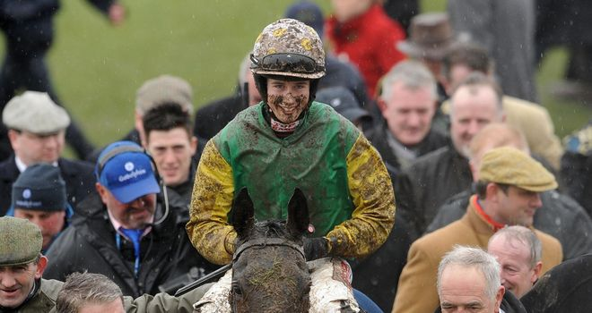Bryan Cooper: Remained tight-lipped at Fairyhouse