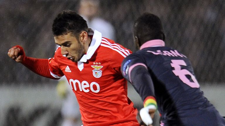 Salvio: Linked with Arsenal switch