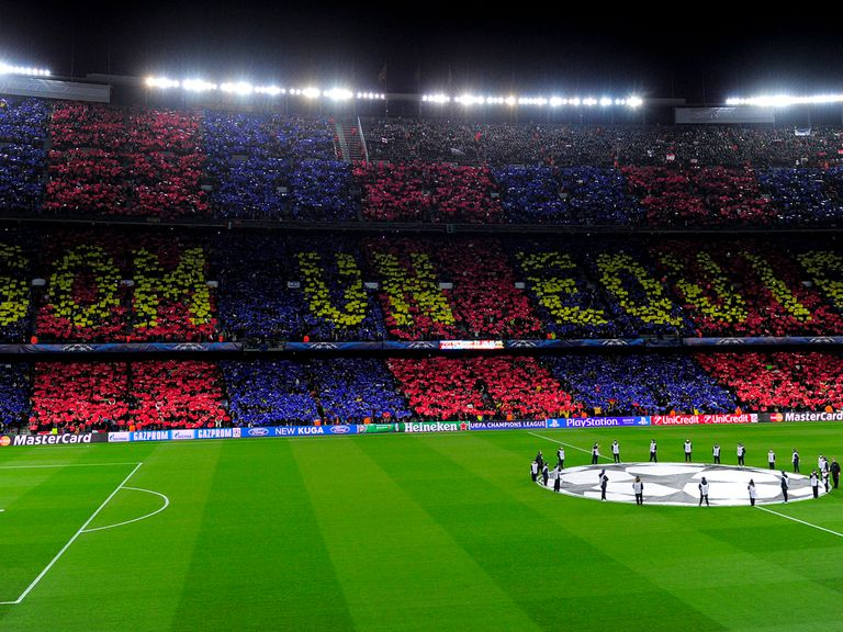 Barcelona will look to increase their ground capacity
