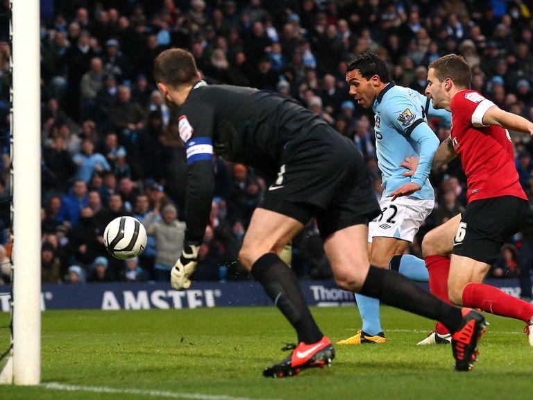 Carlos Tevez: Hat-trick hero against Barnsley