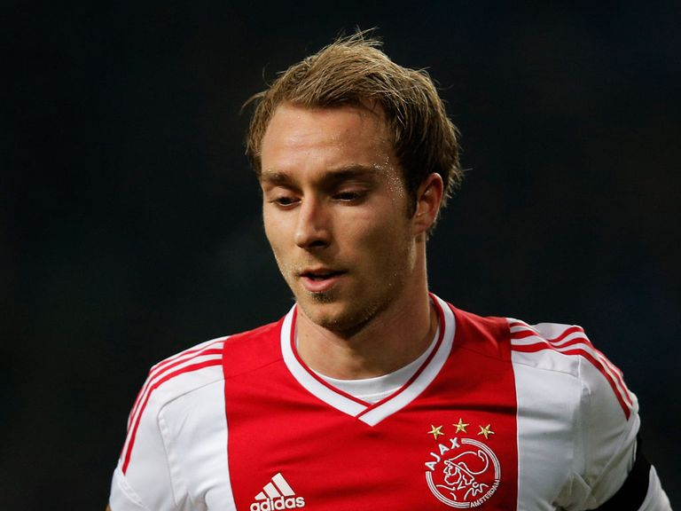Christian Eriksen: Will only quit Ajax for a Champions League club