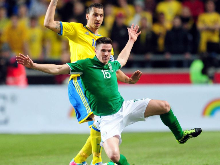 Zlatan Ibrahimovic: Faces the Republic of Ireland tonight
