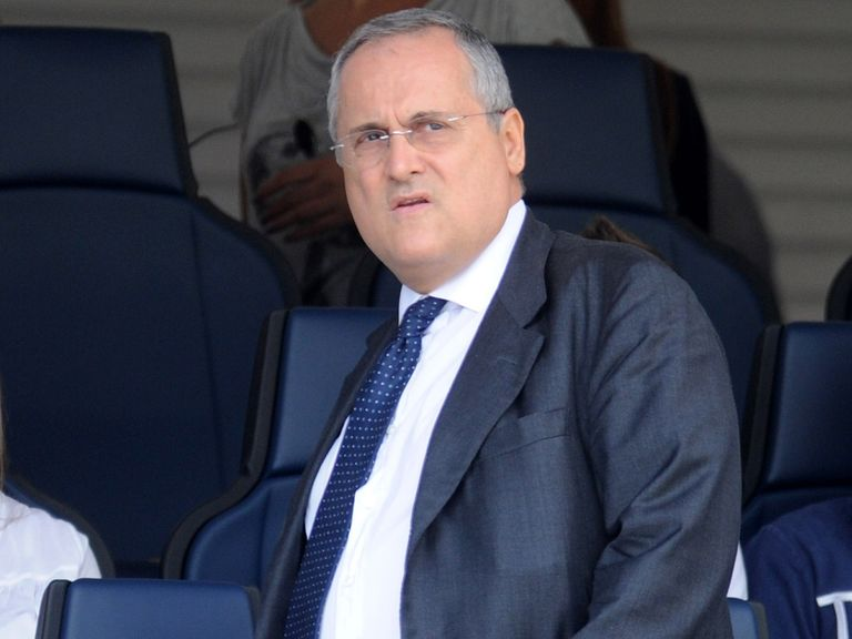 Claudio Lotito: Believes Lazio wasted their time with appeal
