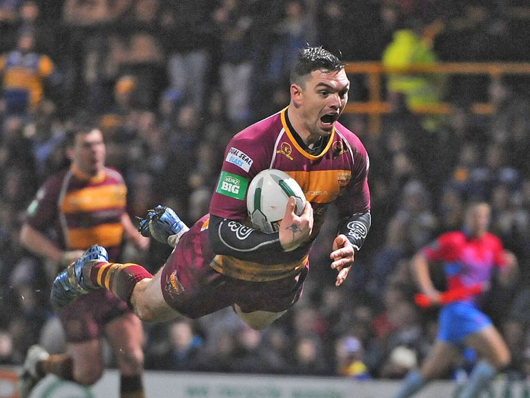 Danny Brough: Rugby League Writers' Association player of the year
