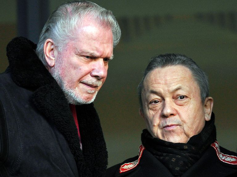 David Gold: Admits West Ham are in need of another goalscorer