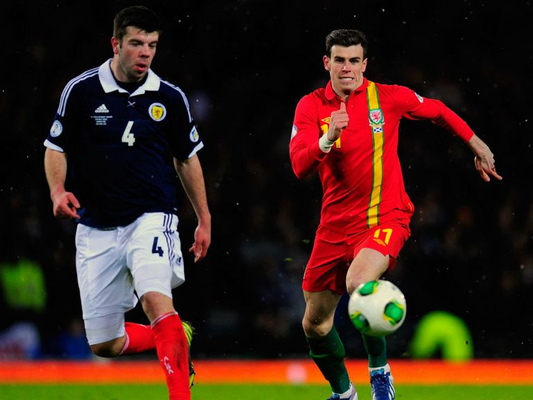Gareth Bale: Lasted just 45 minutes against Scotland