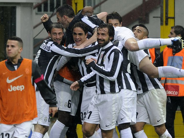 Matri's strike secured victory for Juventus