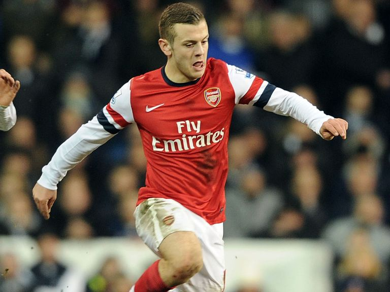 Jack Wilshere: Could return against Norwich next weekend