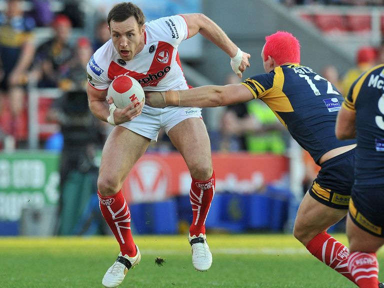 James Roby: Has signed a five-year deal with St Helens