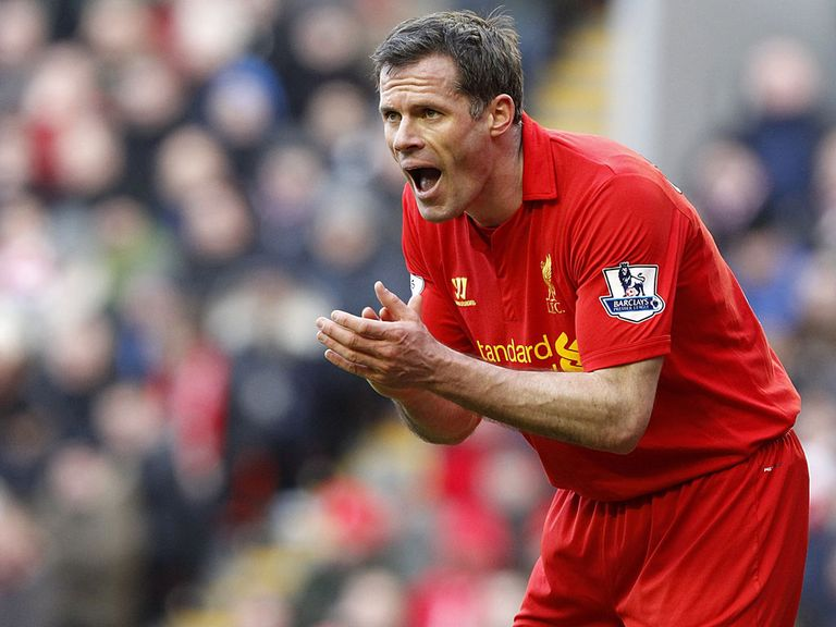 Carragher: Set for his final Merseyside derby before joining Sky Sports