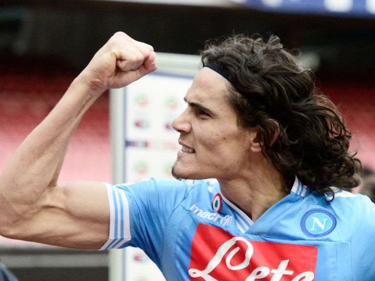 Edinson Cavani: Making plenty of headlines in this summer's transfer window
