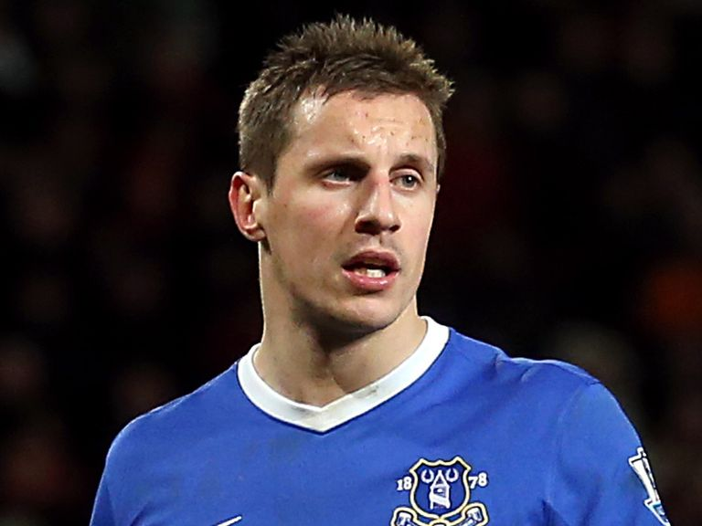 Phil Jagielka: Still thinks Everton can qualify for the Champions League
