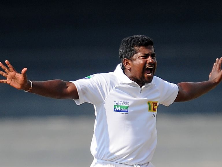 Rangana Herath: Five wickets for Sri Lanka