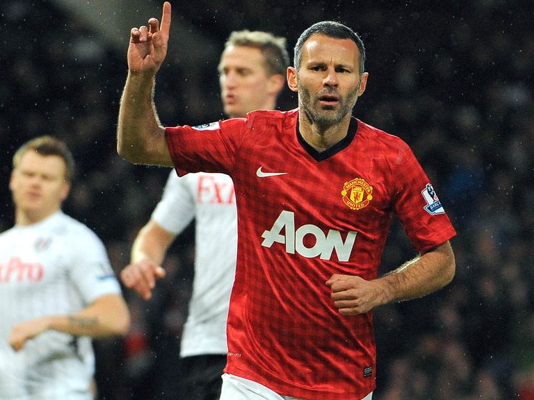 Ryan Giggs: In his 23rd season at Old Trafford