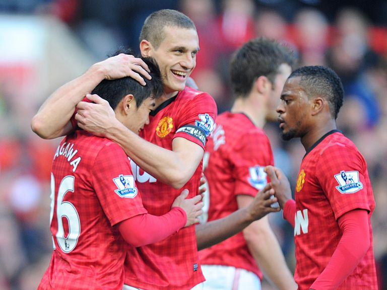 Nemanja Vidic: Says United have the title in their hands