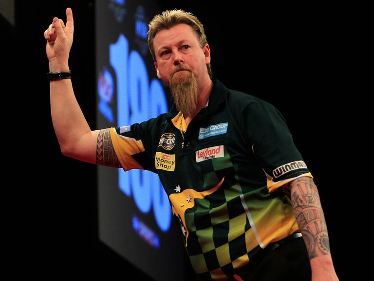 Simon Whitlock: Fancied to beat Andy Hamilton