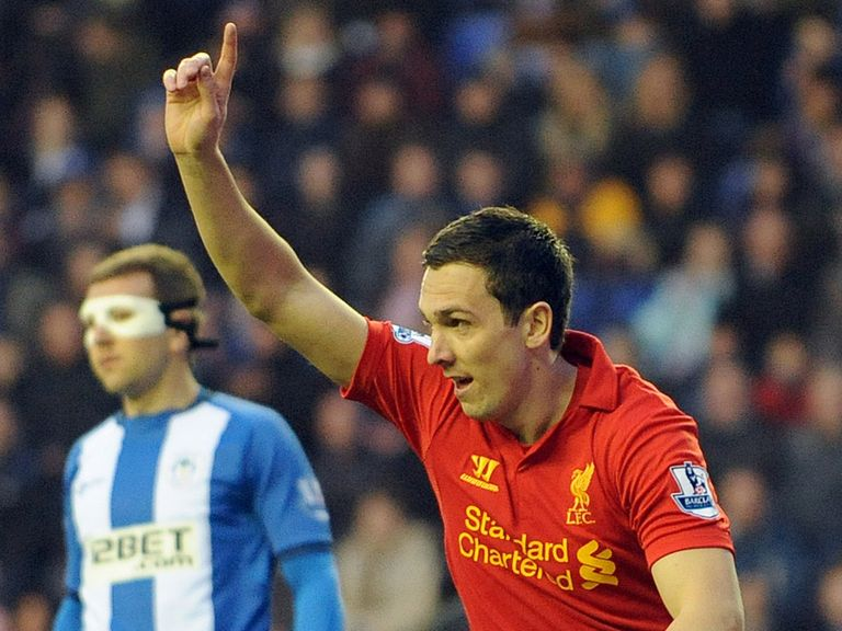 Stewart Downing: Found the net against Wigan