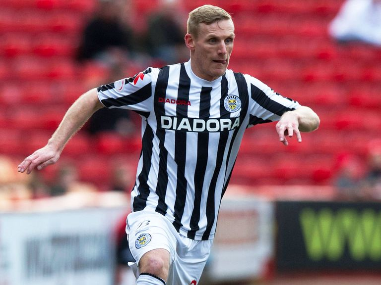 Gary Teale: Misses out for St Mirren
