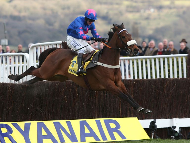 Cue Card wins the Ryanair Chase last season