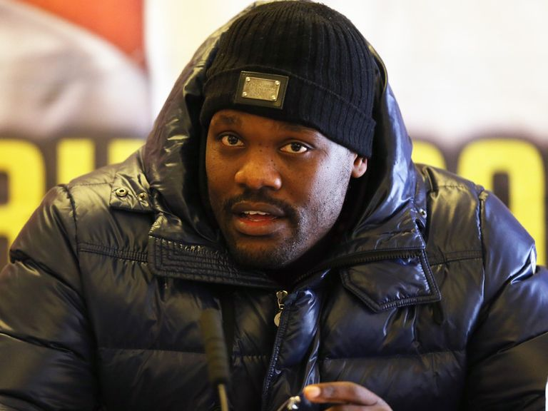Dereck Chisora: Set to fight Malik Scott