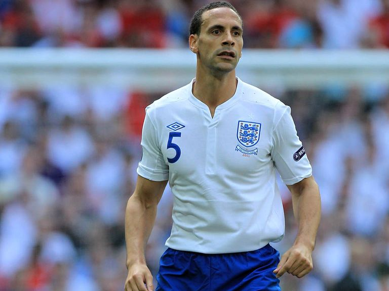 Rio Ferdinand: Pulled out of England squad