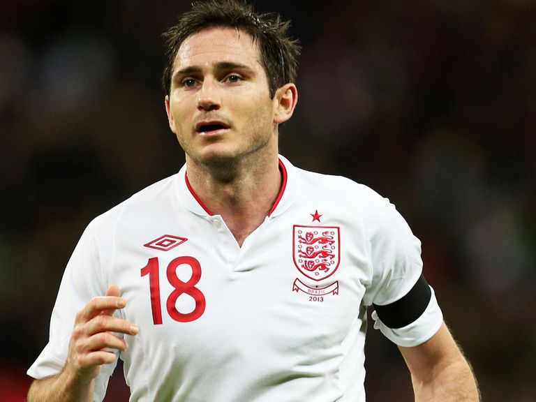 Frank Lampard: England's highest scoring midfielder