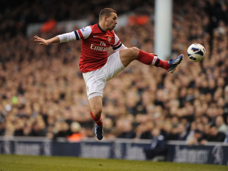 Lukas Podolski: Rejects talk of a move away