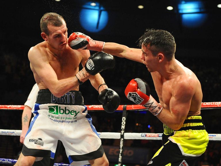 Derry Mathews and Anthony Crolla : Draw in Liverpool