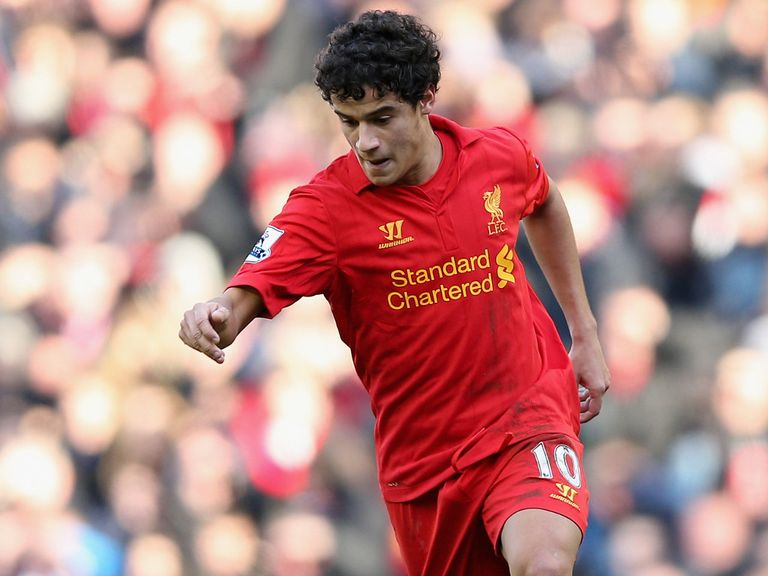 Philippe Coutinho: Praised by Liverpool team-mate Lucas Leiva