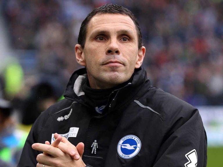 Gus Poyet: Eyeing Wembley with Brighton