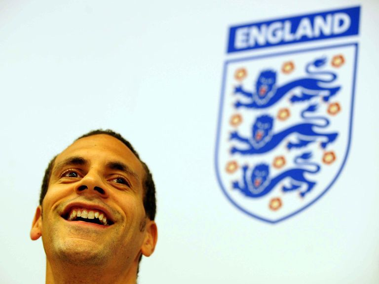 Rio Ferdinand: Back in the England squad