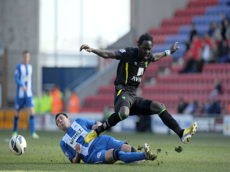 Kei Kamara: Has been a popular figure at Carrow Road