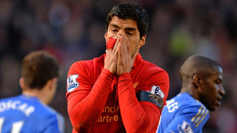 Luis Suarez: Banned for biting offence during time with Ajax