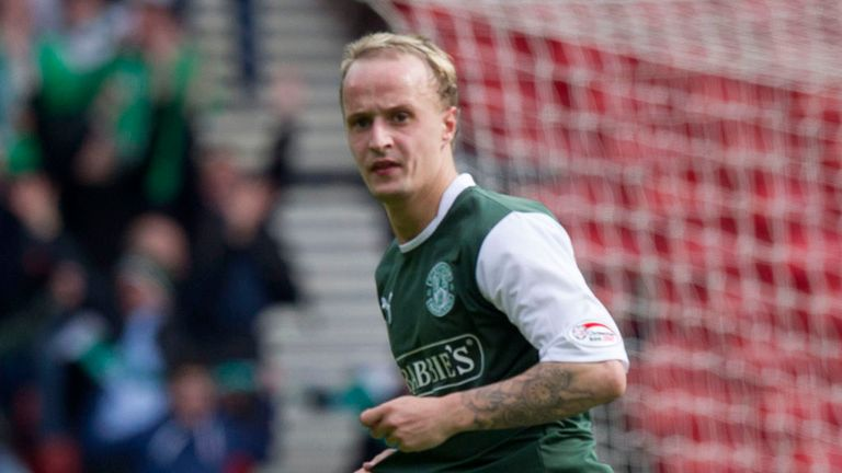 Hibernian striker Leigh Griffiths has been nominated for both PFA Scotland awards