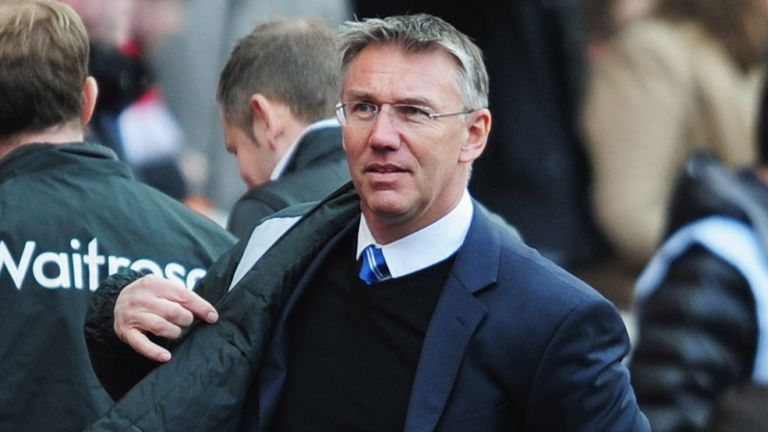 Nigel Adkins: Reading boss has backed Southampton to finish in the top 10