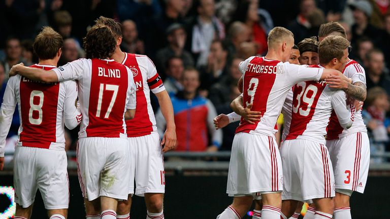 Ajax: Expected to clinch Eredivisie title at weekend