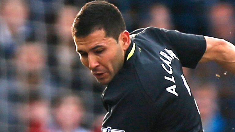 Antolin Alcaraz: Wigan defender suffered hamstring injury in West Ham defeat