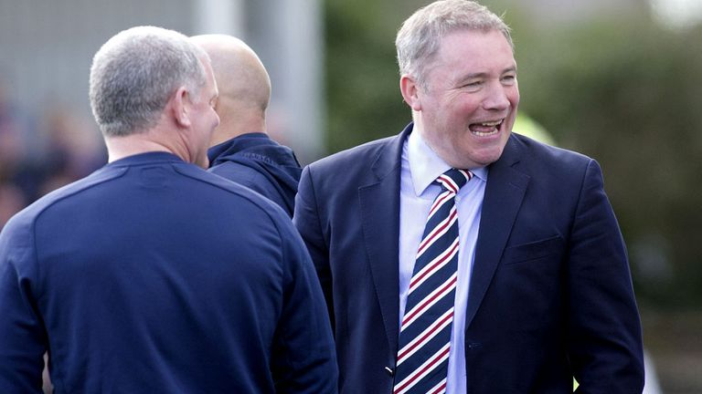 Ally McCoist: Looking to freshen up his playing staff as he seeks to drive Rangers on