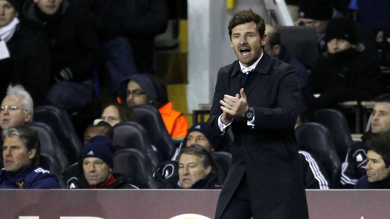 Andre Villas-Boas: Encouraged by Manchester City's indifferent form away from the Etihad Stadium