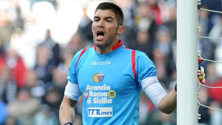Mariano Andujar: One of two Catania players banned
