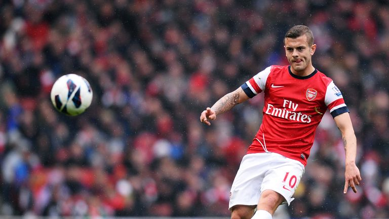Jack Wilshere: On the bench at the weekend