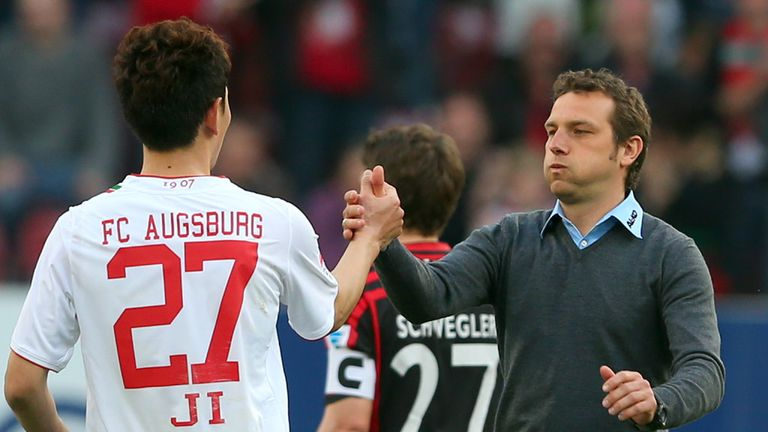 Markus Weinzierl: FC Augsburg boss could be in line for a contract extension