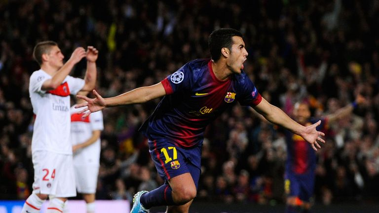 Pedro: Does not want to leave Barcelona