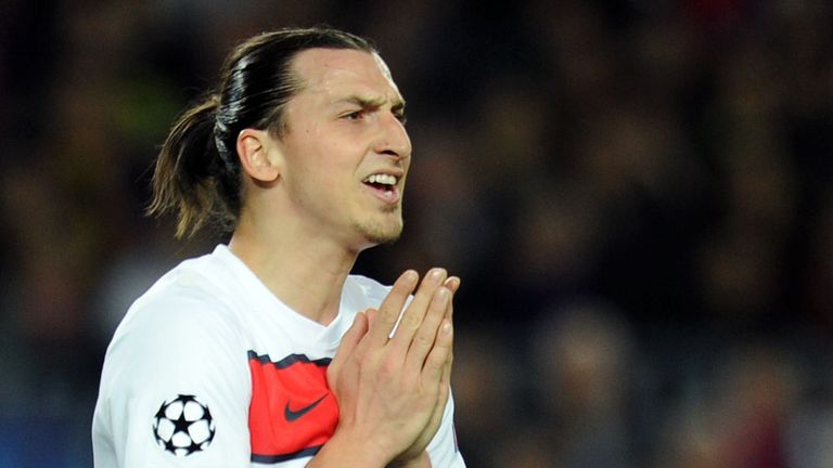 Zlatan Ibrahimovich: 30 goals from the super Swede helped PSG to the French league title.
