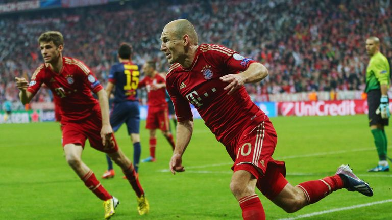 Arjen Robben: Happy at Bayern Munich after being linked with Manchester City