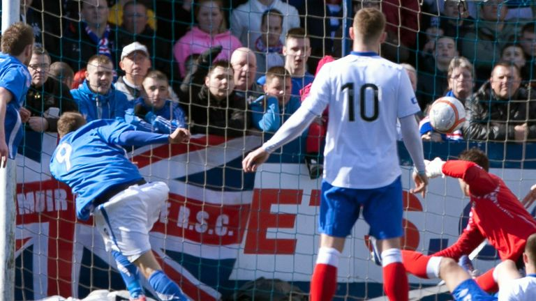 Martin Boyle's goal from Montrose was ruled out