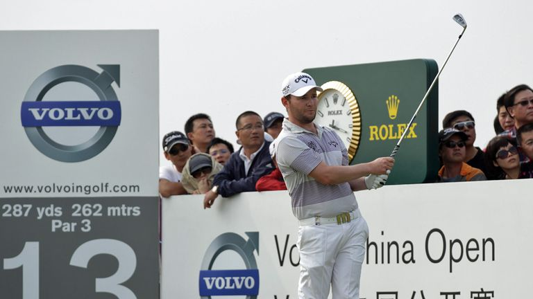 Branden Grace: Back in China to defend his title